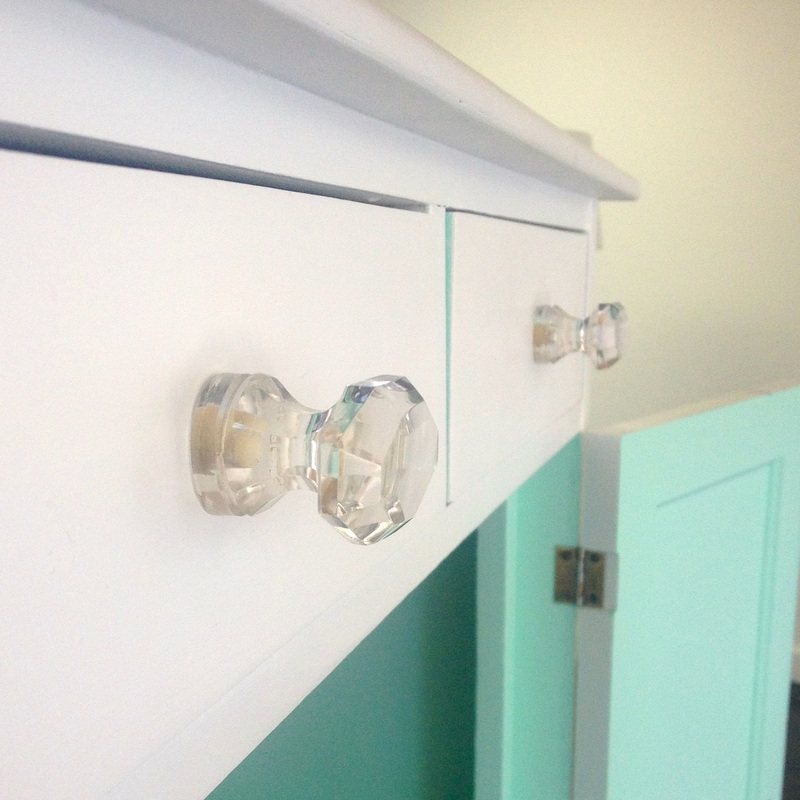 glass furniture knobs
