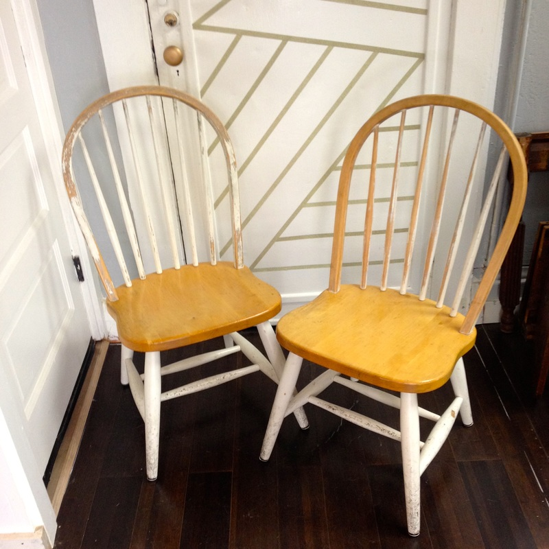 before wood dining chairs