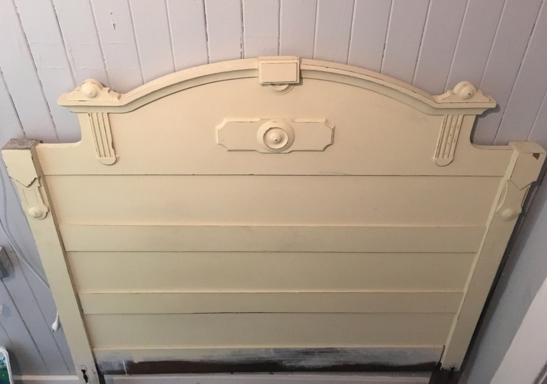 How to revive a vintage headboard