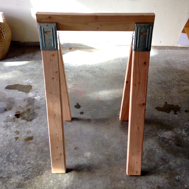How to build a set of Sawhorses