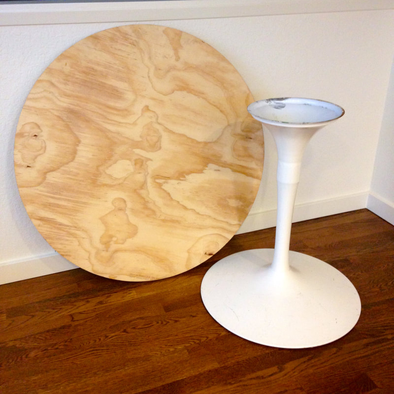 The Fab Furniture Flippin Contest Envirotex Resin, Tulip Table Makeover